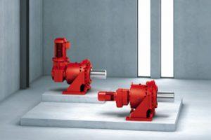 P..2 Series: Helical-bevel planetary gear units (gearmotors)