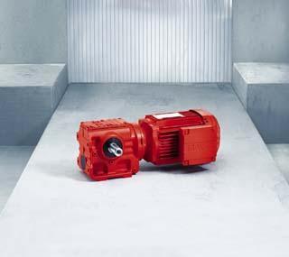 Helical-worm Gearmotor S Series
